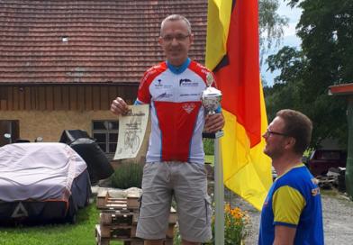 Sven Albrecht ist neuer Bezirksmeister im Einzelzeitfahren