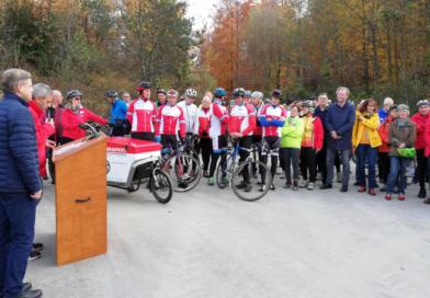 Radweg von Sulpach nach Kümmerazhofen offiziell freigegeben