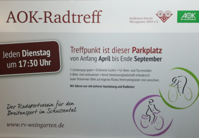 AOK-Radtreff startet am 2. April