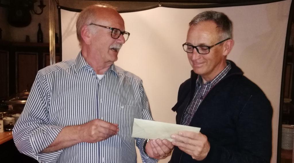 Dank an Robert Thürich (rechts) für seine hervorragende Arbeit