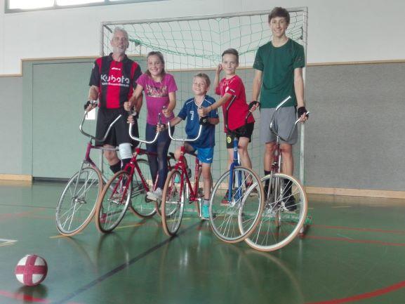 Kinderferienprogramm bei den Radballern
