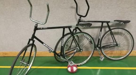 Neue Radballräder für die Radballjugend
