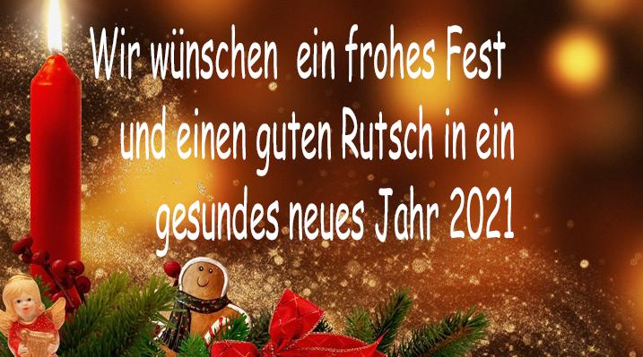 Gedanken zu Weihnachten und dem neuen Jahr