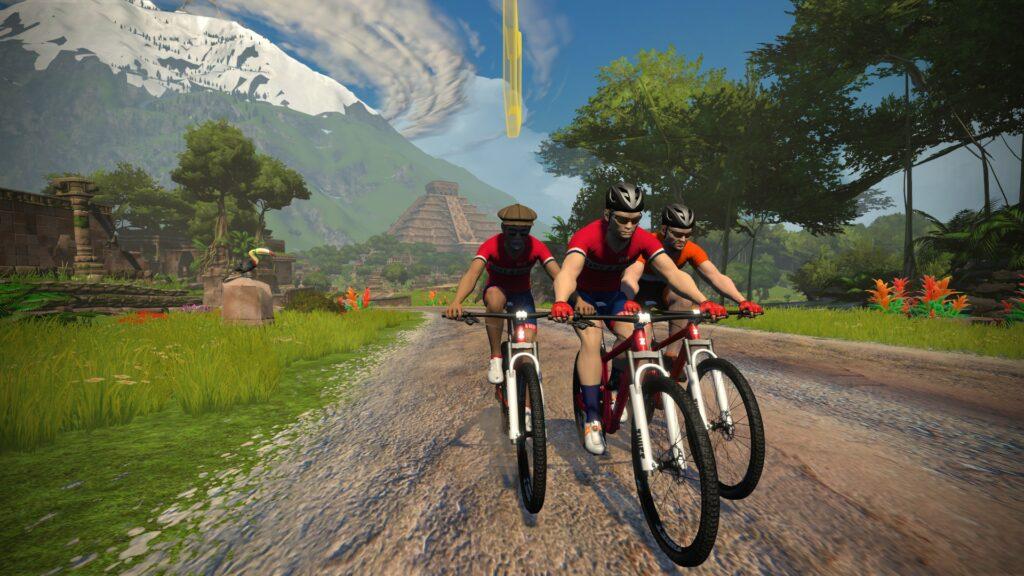 Mit dem Bike bei den Mayas in Watopia